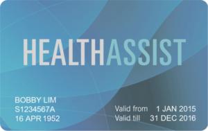 blue health assist card