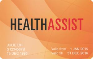 orange health assist card